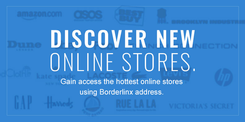 Gain access the hottest online stores using Borderlinx address.